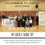 Velkommen til sæson 2017/2018